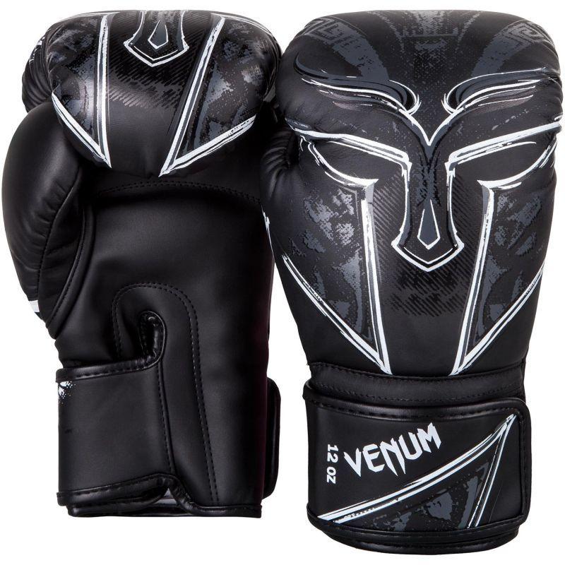Venum-gladiator-3-boxing-gloves-black-white