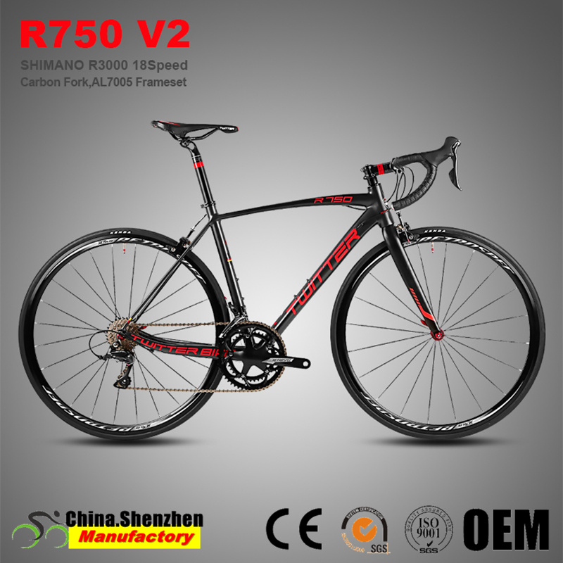 Superlight-Sora-R3000-18-Speed-Carbon-Fork-Road-Racing-Bicycle